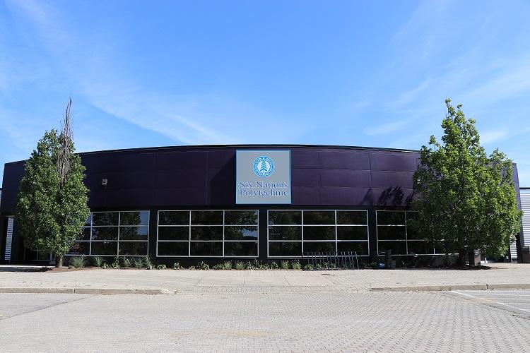 Front of Brantford Campus